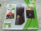 MICROSOFT 1439 XBOX 360 - 250GB WITH CONTROLLER/HEADPHONES/AV AND POWER CORDS